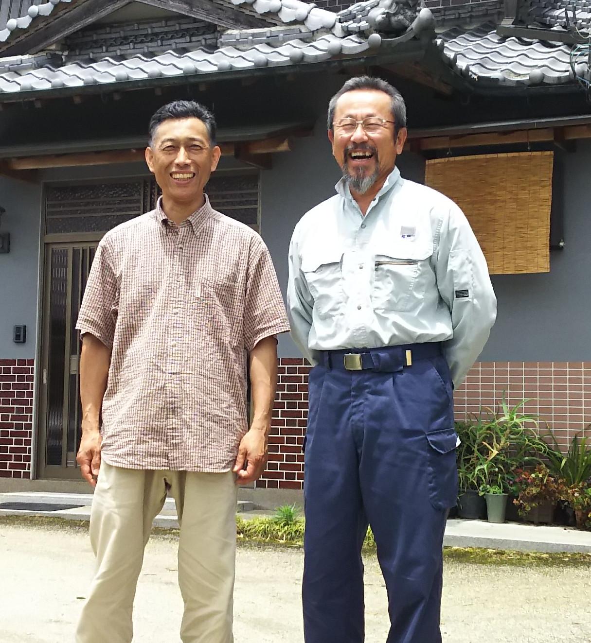 三重県伊賀の生産者「福地さん」訪問