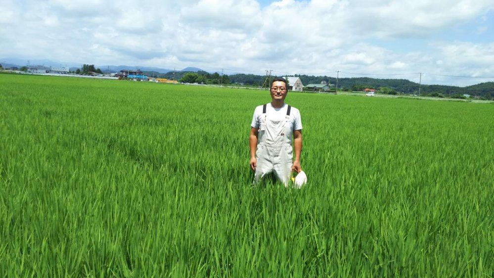 宮城県栗原市の高橋さんにお邪魔しました。