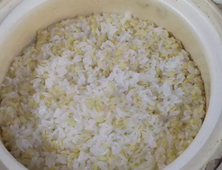 米を食べる方法の一つ